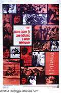 Music Memorabilia:Posters, Having A Wild Weekend (Warner Brothers, 1965)....