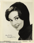 Music Memorabilia:Autographs and Signed Items, Audrey Hepburn Signed Photograph....