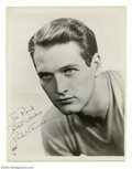 Music Memorabilia:Autographs and Signed Items, Paul Newman and Joanne Woodward Autographed Photos (undated)....