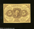 Fractional Currency:First Issue, Fr. 1230 5c First Issue Gem Crisp Uncirculated. A lovely ...
