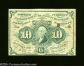 Fractional Currency:First Issue, Fr. 1242 10c First Issue Fine. A couple of spots are found ...