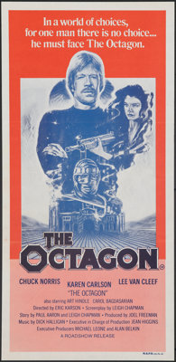 """The Octagon & Other Lot (Roadshow, 1981). Folded, Overall: Very Fine. Australian Daybills (2) (Approx. 13.25"""" X..."""