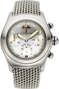Timepieces:Wristwatch, Corum, Bubble Automatic Chronograph, Stainless Steel, Ref. 285.150.20, Circa 2000s. ...
