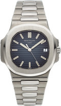 Timepieces:Wristwatch, Patek Philippe, Very Fine Nautilus Ref. 5711/1A, Stainless Steel, Circa 2016. ...