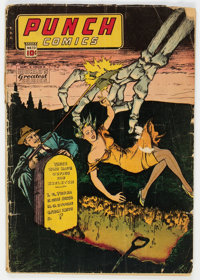 Punch Comics #13 (Chesler, 1945) Condition: GD-