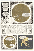 Original Comic Art:Panel Pages, Curt Swan and Murphy Anderson Superman #266 Story Page 2 Original Art (DC, 1973)....