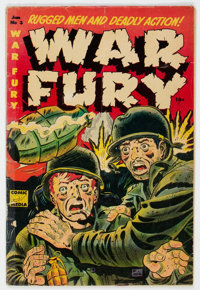 War Fury #3 (Comic Media, 1953) Condition: GD