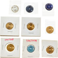Timepieces:Other , Rolex, Nine Lady's 20 mm Datejust Dials. ... (Total: 9 Items)