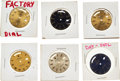 Timepieces:Other , Rolex, Six Men's Oyster Perpetual Day-Date Dials. ... (Total: 6 Items)