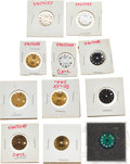 Timepieces:Other , Rolex, Eleven Lady's Oyster Perpetual Datejust Dials. ... (Total: 11 Items)