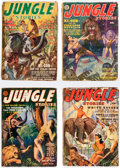 Pulps:Adventure, Jungle Stories and Others Box Lot (Fiction House/Red Circle, 1937-54) Condition: Average FR/GD....