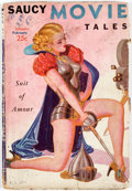 Pulps:Detective, Saucy Movie Tales - January 1938 (Movie Digest) Condition: FR/GD....
