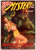 Pulps:Horror, Spicy Mystery Stories - September 1941 (Culture) Condition: FR....