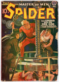 Pulps:Hero, The Spider - August 1939 (Popular) Condition: VG....