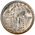 1917-S 25C Type Two MS64 Full Head PCGS. PCGS Population: (107/89 and 0/12+). NGC Census: (62/39 and 0/2+). CDN: $1,250...