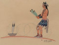 American Indian Art:Photographs, Harrison Begay (Navajo, 1917 - 2012)... (Total: 2 )