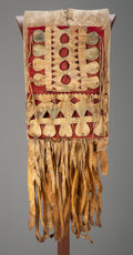 American Indian Art:Pipes, Tools, and Weapons, An Apache Double Saddle Bag...