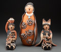 American Indian Art:Pottery, Three Southwest Storytellers ... (Total: 3 )