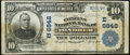 National Bank Notes:Pennsylvania, Windber, PA - $10 1902 Plain Back Fr. 624 The Citizens National Bank Ch. # (E)6848 Very Fine.. ...