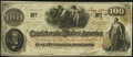 Confederate Notes:1862 Issues, T41 $100 1862 PF-22 Cr. 320A Extremely Fine-About Uncirculated.. ...