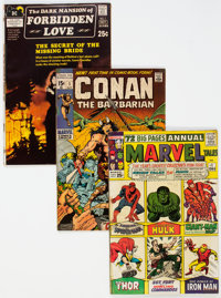 Silver and Bronze Age Comics Short Box Group (Various Publishers, 1964-71) Condition: Average VG