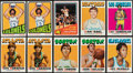 Basketball Cards:Lots, 1971 & 1972 Topps Basketball Collection (425). ...