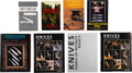 Edged Weapons:Knives, Lot of Eight (8) Books on Custom Knives and Collecting.. ... (Total: 8 Items)