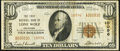 National Bank Notes:Oklahoma, Lone Wolf, OK - $10 1929 Ty. 2 The First National Bank Ch. # 10096 Fine.. ...