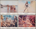 """Movie Posters:Fantasy, One Million Years B.C. & Other Lot (20th Century Fox, 1966). Overall: Very Fine-. Lobby Cards (7), Lobby Card Set of 8 (11"""" ... (Total: 24 Items)"""