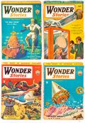 Pulps:Science Fiction, Wonder Stories Group of 5 (Standard, 1931-35) Condition: Average VG.... (Total: 5 Items)