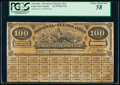 Argentina Provincia de Buenos Ayres 100 Pesos 3.10.1878 Pick Unlisted Proof PCGS Choice About New 58