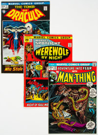 Marvel Bronze Age Horror/Monsters Group of 41 (Marvel, 1969-74) Condition: Average FN.... (Total: 41 Items)