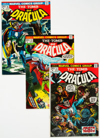 Tomb of Dracula Group of 13 (Marvel, 1972-74) Condition: Average FN/VF.... (Total: 13 Items)