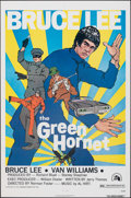 """Movie Posters:Action, The Green Hornet (20th Century Fox, 1974). Folded, Very Fine. One Sheet (27"""" X 41"""") Bruce Lee Style. Action.. ..."""