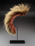 American Indian Art:Pipes, Tools, and Weapons, A Southern Plains Hair Roach... (Total: 0 )