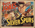 "Movie Posters:Western, Silver Spurs (Universal, 1936). Fine. Title Lobby Card (11"" X 14""). Western.. ..."