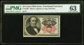Fractional Currency:Fifth Issue, Fr. 1308 25¢ Fifth Issue PMG Choice Uncirculated 63.. ...
