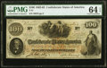 Confederate Notes:1862 Issues, T41 $100 1862 PF-11 Cr. 319A PMG Choice Uncirculated 64 EPQ.. ...