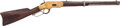 Long Guns:Lever Action, Winchester Model 1866 Yellow Boy Saddle Ring Carbine.. ...