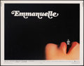 """Movie Posters:Adult, Emmanuelle (Columbia, 1974). Rolled, Fine/Very Fine. Half Sheet (22"""" X 28""""). Adult.. ..."""
