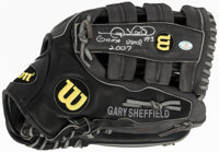 2007 Gary Sheffield Game Used Glove