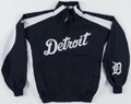 Baseball Collectibles:Uniforms, Ivan Rodriguez Team Issued Detroit Tigers Jacket. ...