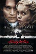 """Movie Posters:Fantasy, Sleepy Hollow (Paramount, 1999). Rolled, Very Fine-. One Sheet (26.75"""" X 39.75"""") DS Advance. Fantasy.. ..."""
