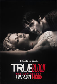 """True Blood (HBO, 2009/2010). Rolled, Very Fine+. Television One Sheets (3) (27"""" X 40"""") SS Advance. Fantasy..."""