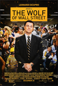 """The Wolf of Wall Street & Other Lot (Paramount, 2013). Rolled, Very Fine. One Sheets (2) (27"""" X 39.75"""" &am..."""