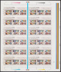 Movie Posters:James Bond, James Bond Uncut Sheet of British Postage Stamps (Royal Mail, 2008). Rolled, Very Fine+. British Postage Stamps (Uncut Sheet...