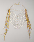 American Indian Art:Beadwork and Quillwork, A Crow Loop Necklace...