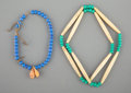 American Indian Art:Beadwork and Quillwork, Two Plains Necklaces... (Total: 2 )