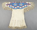 American Indian Art:Beadwork and Quillwork, A Sioux Girl's Beaded Hide Dress ...