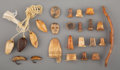 American Indian Art:Pipes, Tools, and Weapons, A Group of Miscellaneous Eskimo Items ... (Total: 6 )